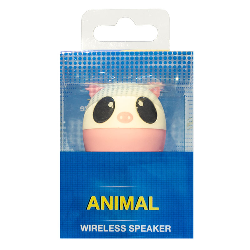 Caixa De Som Bluetooth Mini Pet 3w Pig 2980 Exbom