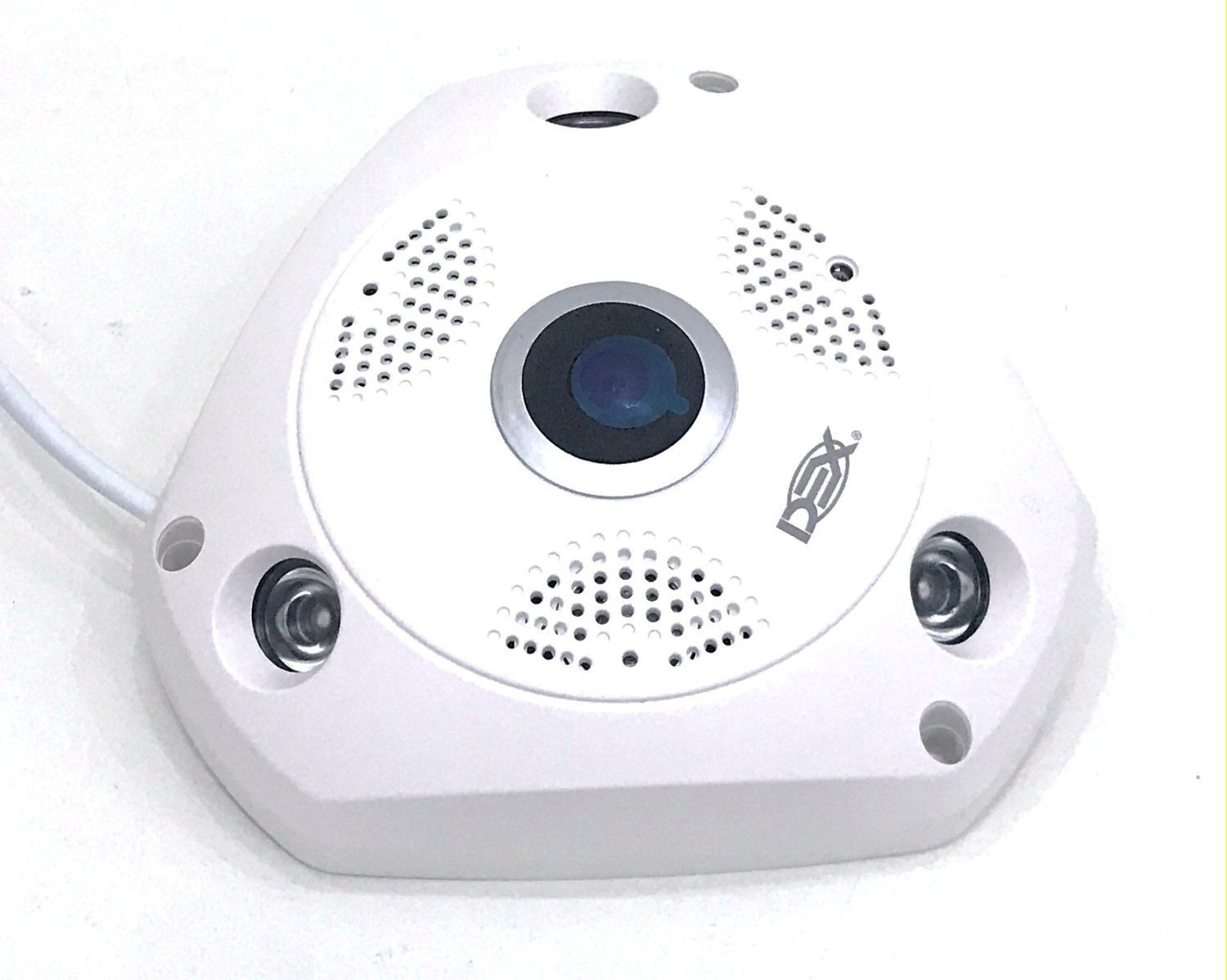 Camera De Seguranca Ip Hd Manoramica 360 Wifi 1.3mp Dx-w8 Dex