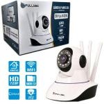 Camera De Seguranca Ip Robot Hd 720p 3 Antenas Wifi Fsm-ip01 F3