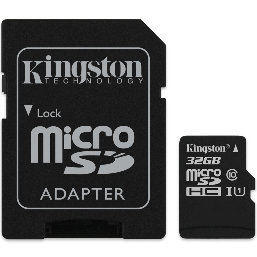 Cartao De Mem. Micro Sd 32gb Classe 10 Kingston C/ Adap