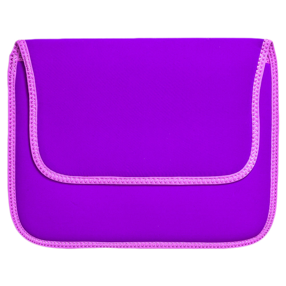 Case Notebook 10p C/velcro Roxo Dex