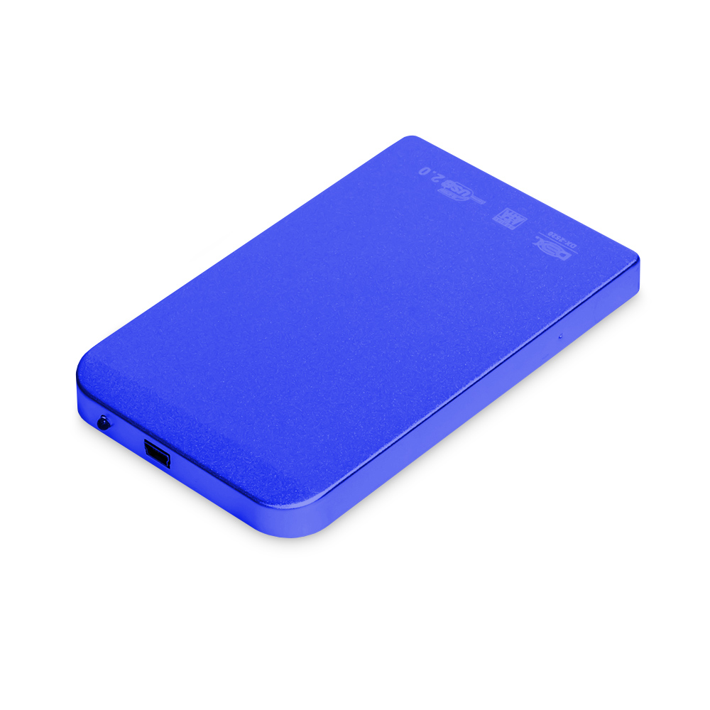 Case Para Hd 2.5 Usb 2.0 Dex Dx-2520 Azul