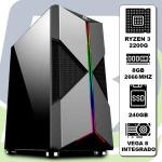 Computador Kit Gamer Ryzen 3 2200g / 8gb / Ssd 240gb/ Vega 8 Integrado