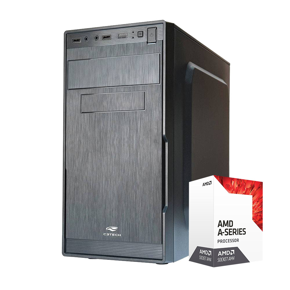 Computador Kit Work/home Amd A10 9700 8gb Ddr4 Ssd 120gb