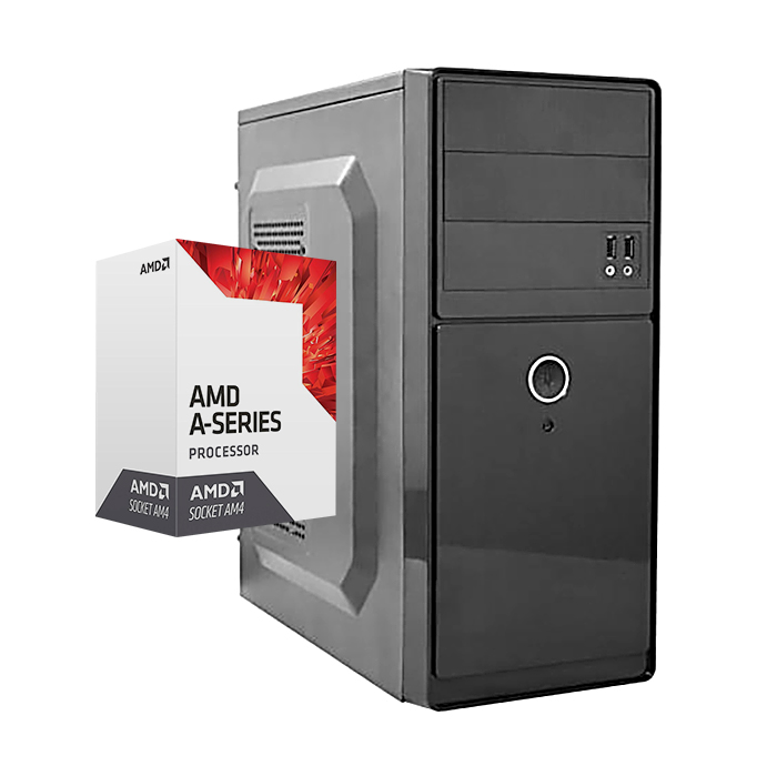 Computador Kit Work/home Amd A8 9600 4gb Ddr4 Hd 250gb