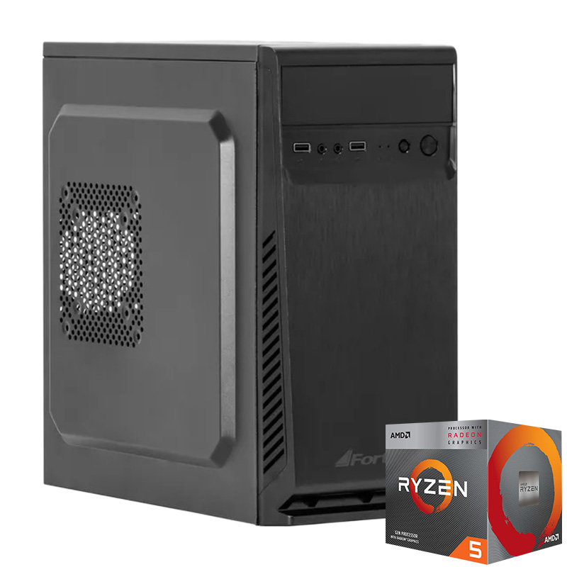 Computador Kit Work/home Amd Am4 Ryzen 3 3200g 8gb Ddr4 Hd 500gb