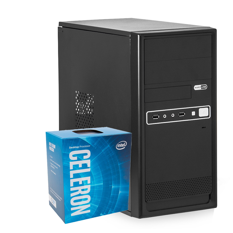 Computador Kit Work/home Intel Celeron G3930 4gb Ddr4 Ssd 240gb