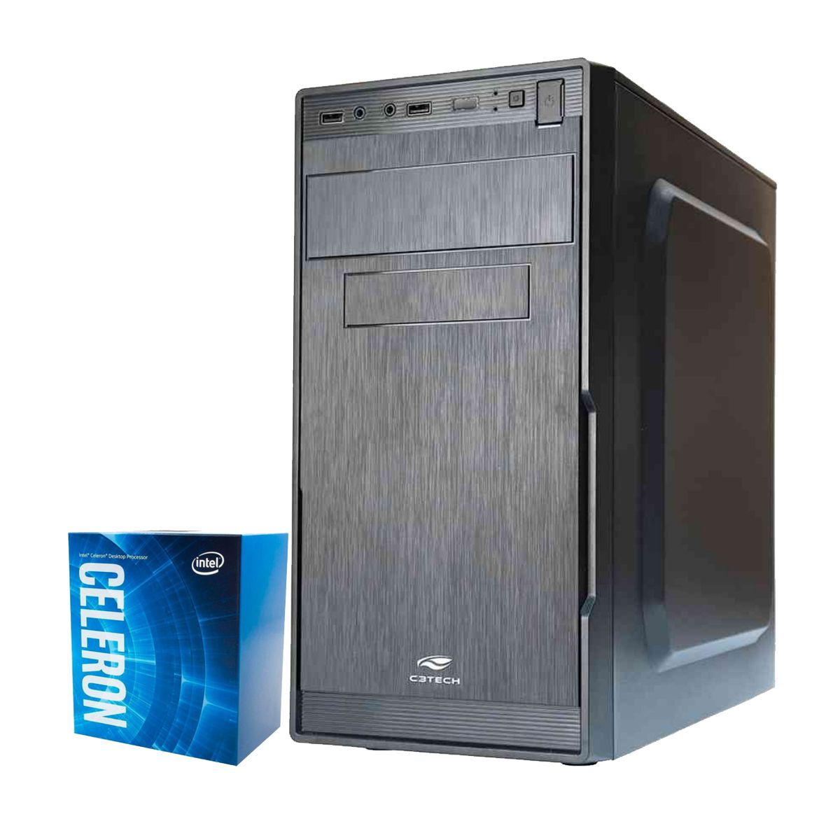Computador Kit Work/home Intel Celeron G4900 4gb Ddr4 Hd 320gb