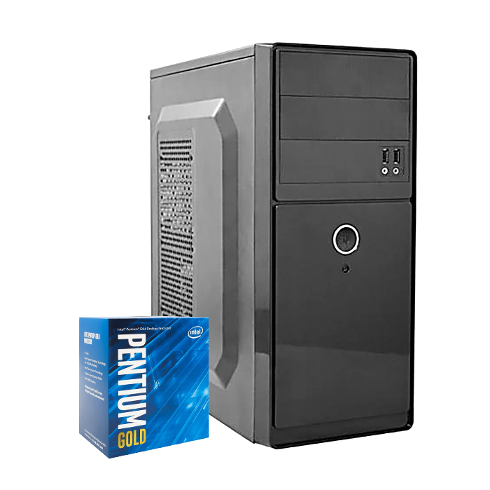 Computador Kit Work/home Intel Pentium G5400 8gb Hd 500gb