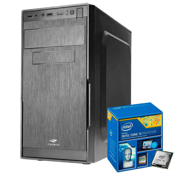 Computador Kit Work/home Intel I3 4160 8gb Hd 1000gb