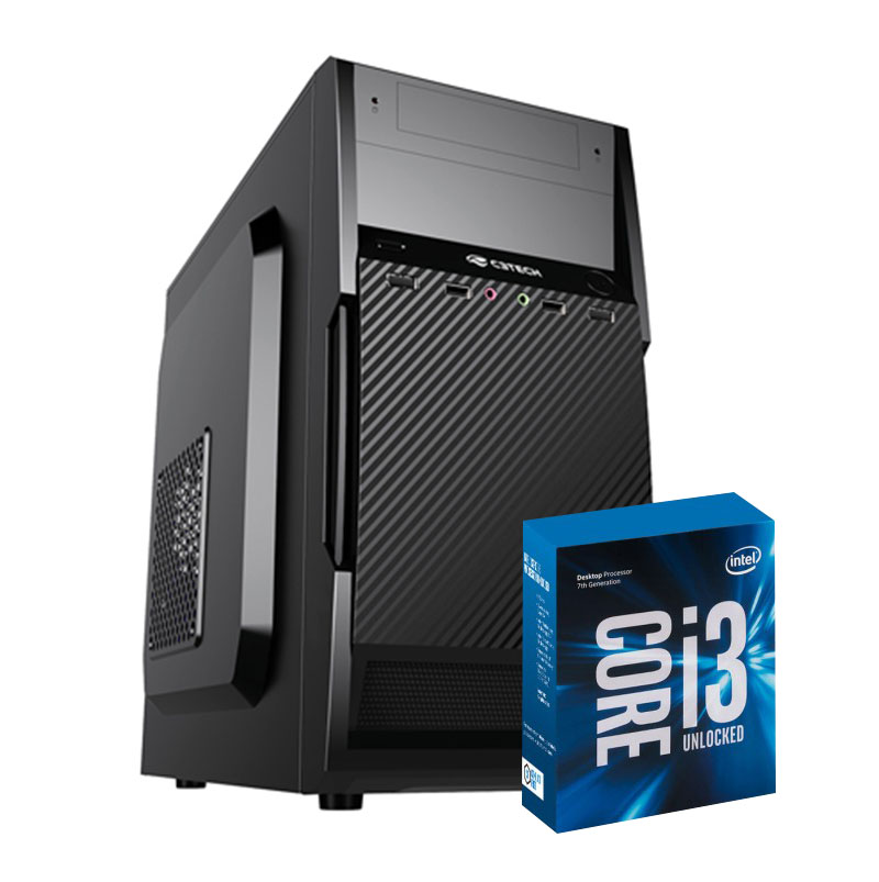 Computador Kit Work/home Intel I3 7350k 8gb Ssd 120 Gb