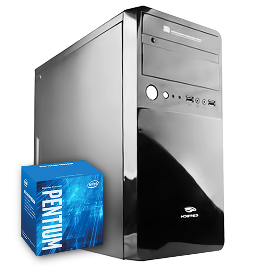 Computador Kit Work/home Intel Pentium G4400 4gb Ssd 120gb