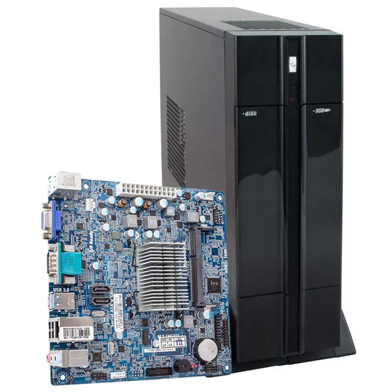Computador Kit Work/home Slim Atx Intel J3060 4gb Ssd 120gb