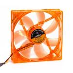 Cooler 120mm Com Led Laranja Dx-12l