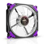 Cooler 120mm Com Led Roxo Dx-12h