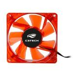 Cooler 80mm Fan Com Led F7-l50rd Storm C3tech