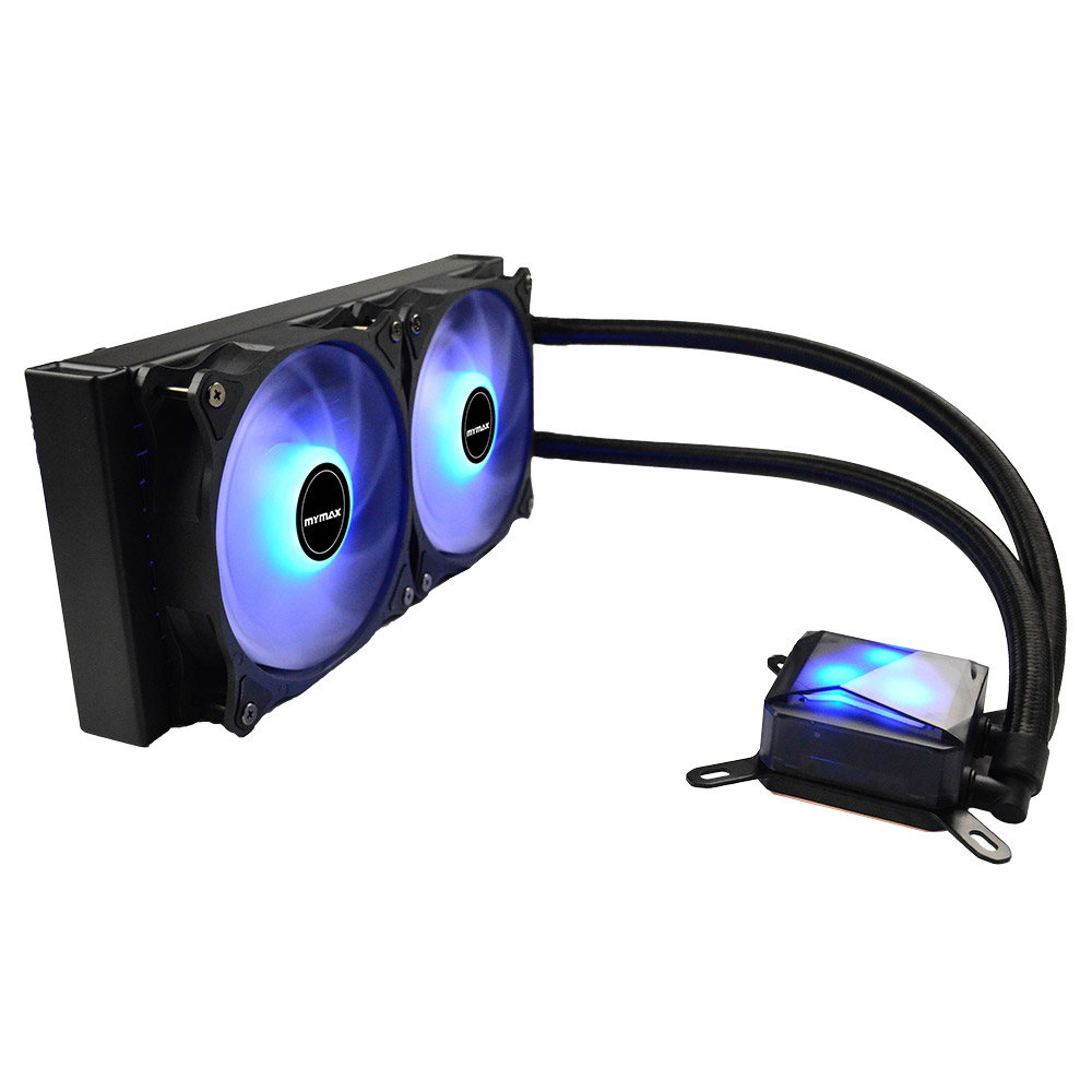 Cooler P/cpu Water New Algor 240mm Led Azul Myc/fc-v3-240-bl Mymax