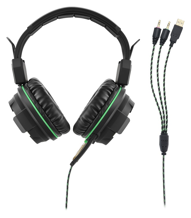 Fone Headset Gamer Preto/vd Usb Ph143 Multilaser