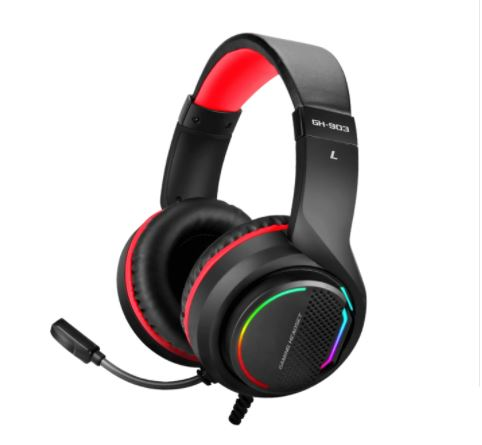 Fone Headset Gamer Usb 7.1 Blacklit Rgb Pc Ps4 Xb.one Gh-903 Xtrike-me
