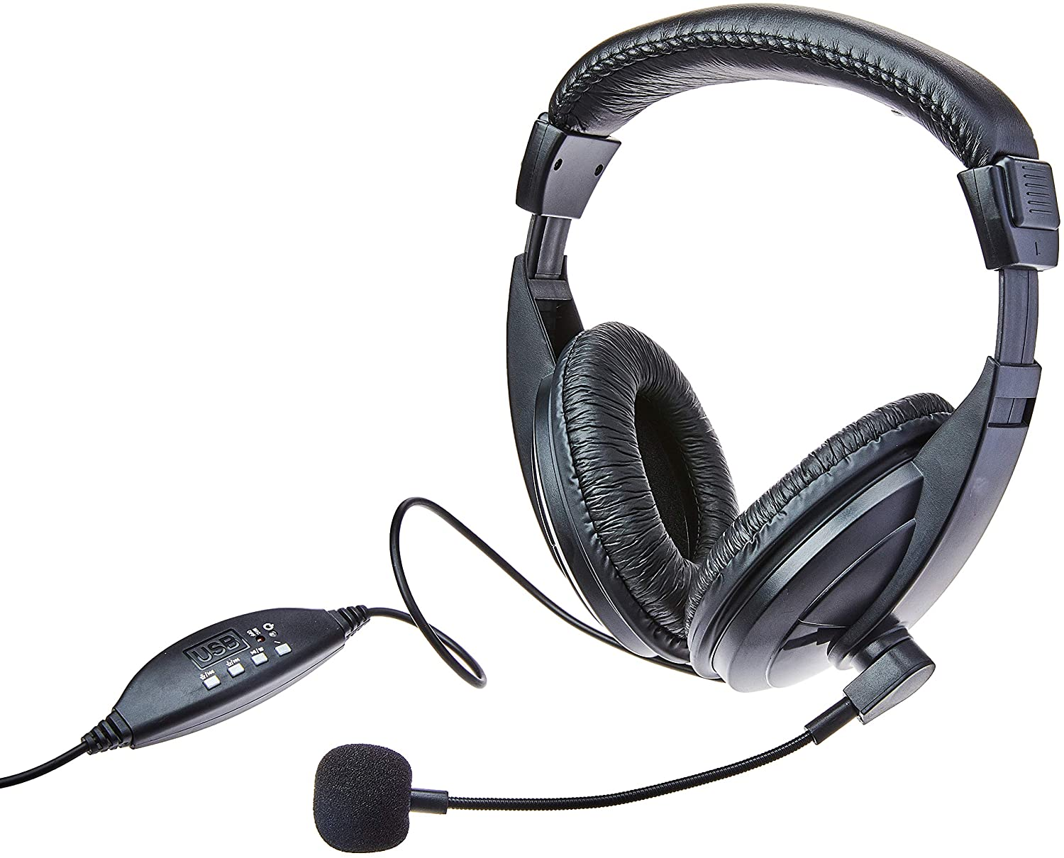 Fone Headset Usb Preto Giant Ph245 Multilaser