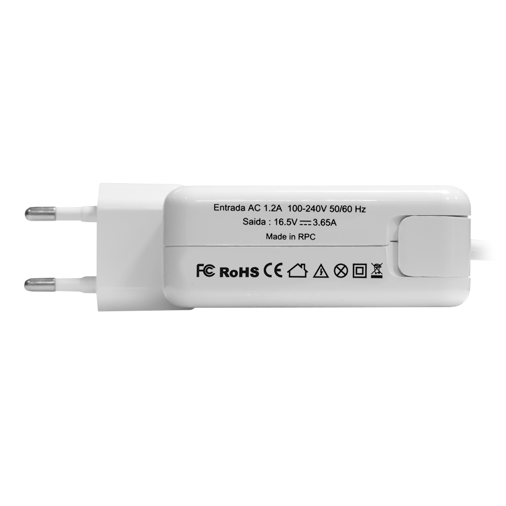 Fonte Nb Apple Air Magsafe2 16.5v 3.65a 60w / 5p Magn