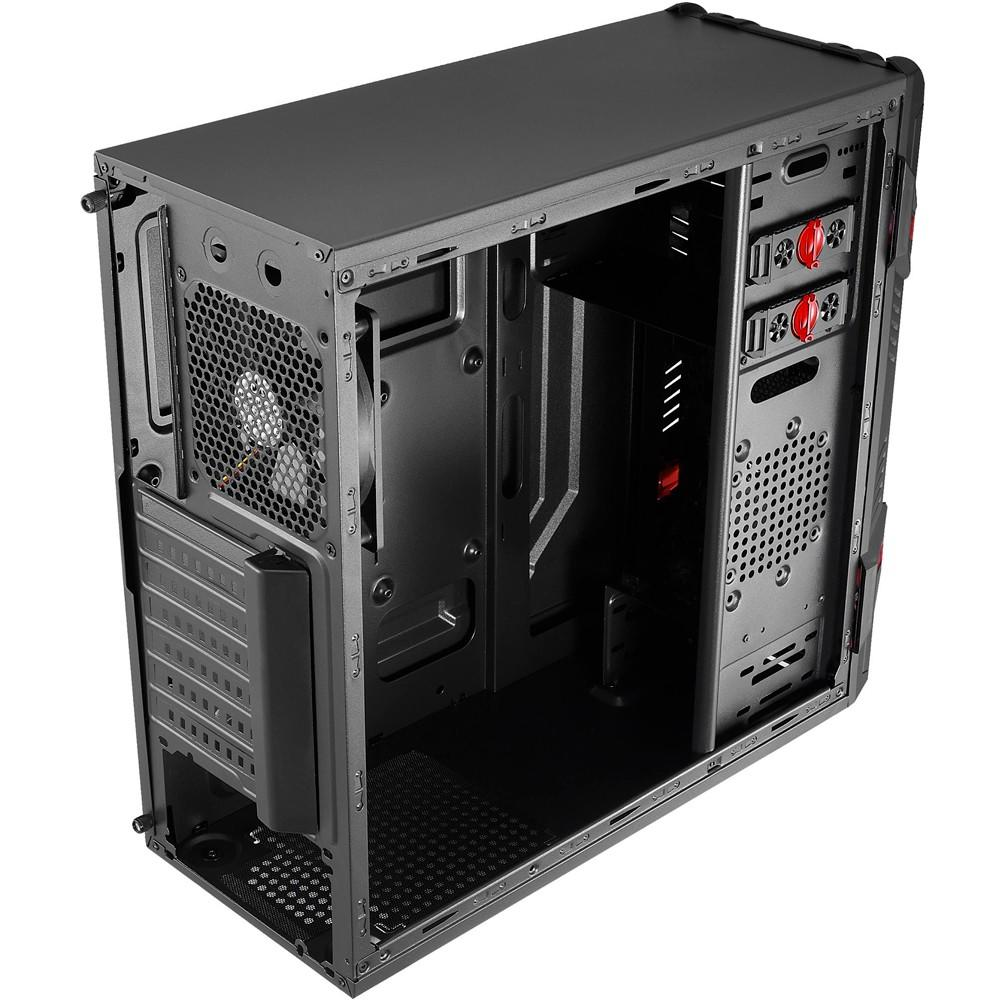 Gabinete Gamer 2b Mid Tower Gt Window En58683 Preto Aerocool