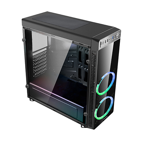 Gabinete Gamer S/ Fonte Mt-g1000bk C3tech