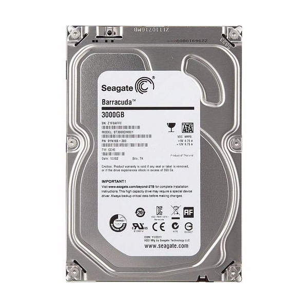 Hd Sata Iii 3000gb 3tb 7200 3.5 Seagate 64mb St3000dm001