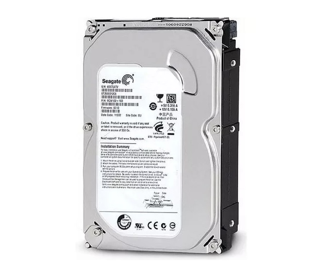 Hd Sata Iii 500gb 7200 3.5 Seagate Barracuda 16mb St3500413as Spare