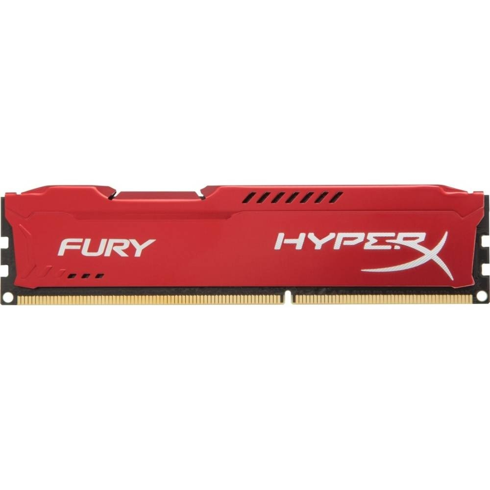 Memoria Ddr3 8gb 1866mhz Hyper-x Fury Red Hx318c10fb/8 Kingston