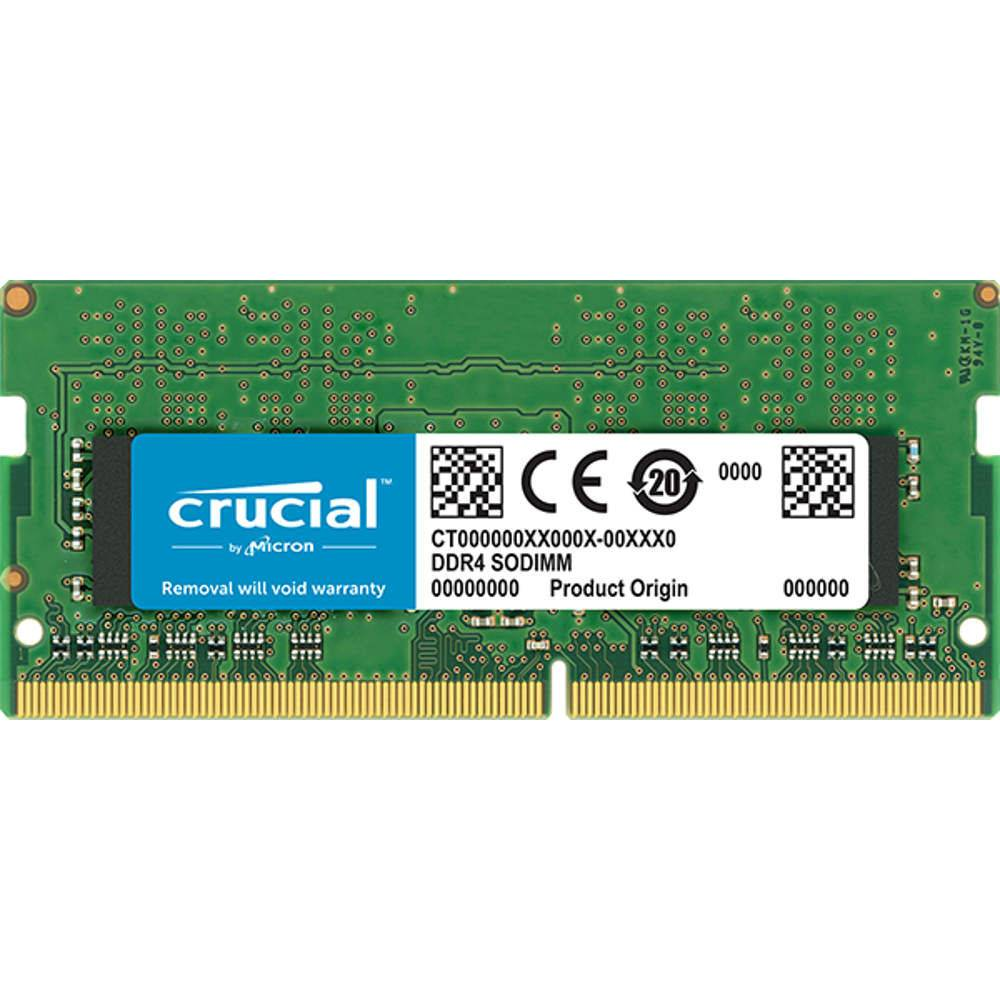 Memoria Ddr4 8gb 2400mhz Notebook Nb Crucial Ct8g4sfs824a