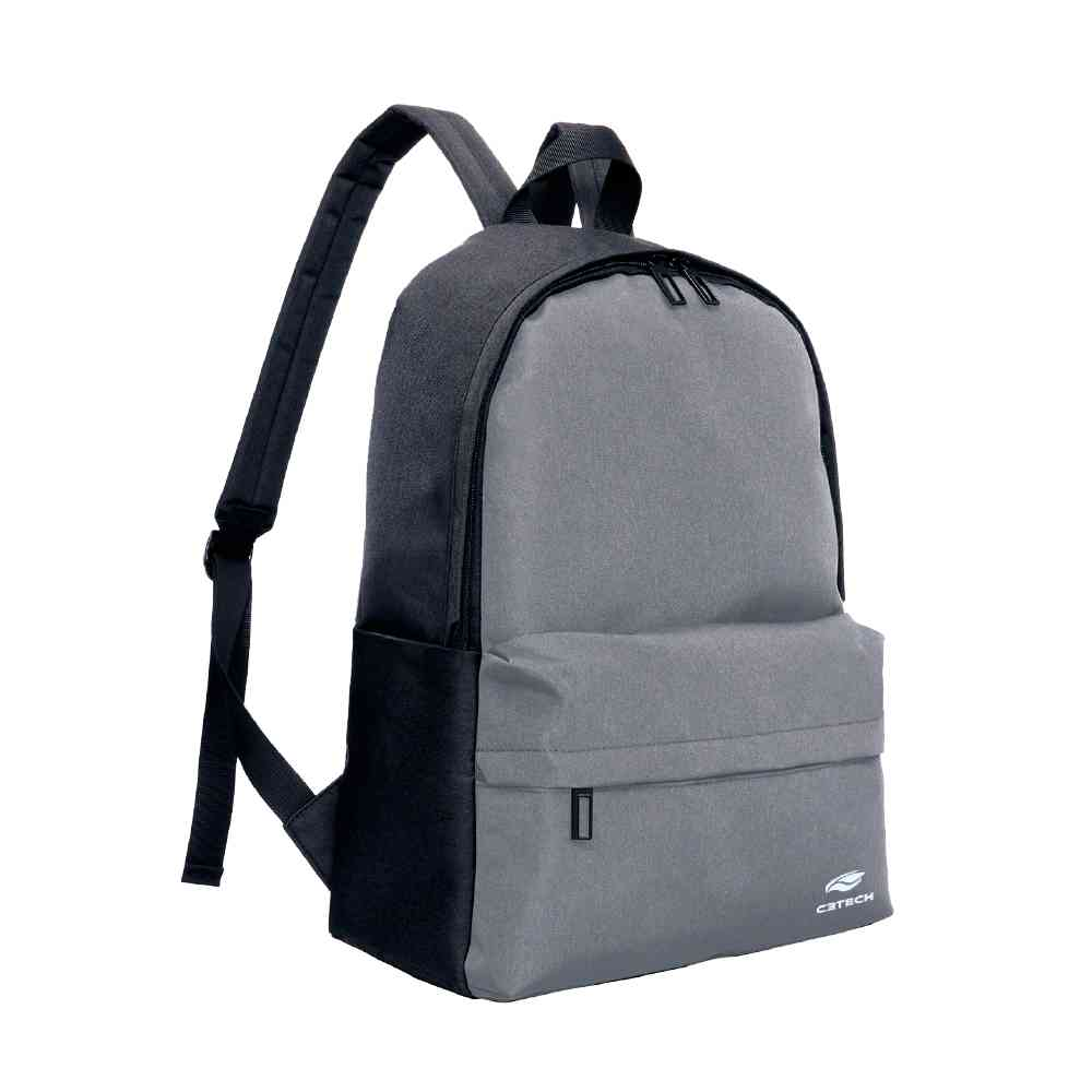 "Mochila Para Notebook 15,6"" Dallas Cinza Mc-02gy C3tech"