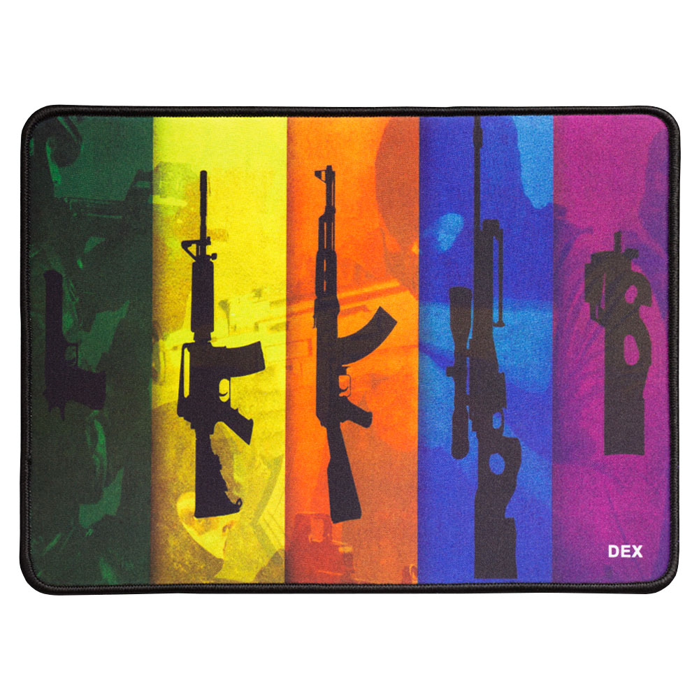 Mouse Pad Gamer Emborrachado P Cs Go 10