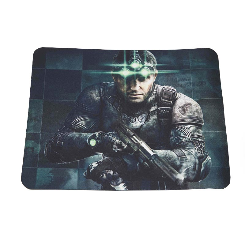 Mouse Pad Gamer Emborrachado P Tom Clancys Exbom