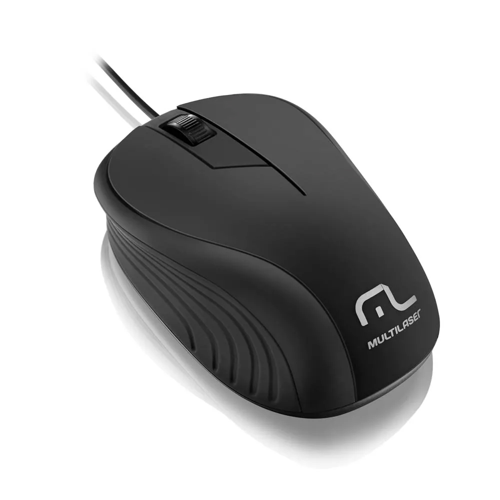 Mouse Usb 1200dpi Optical Preto Mo222 Multilaser
