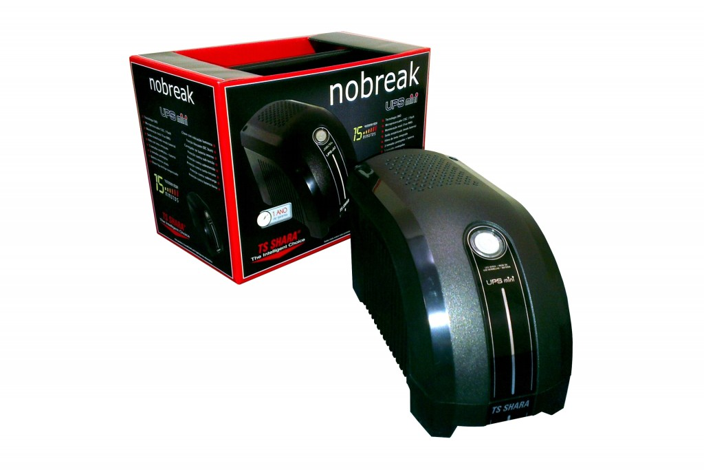 Nobreak Ups Mini 600va Bivolt Ts Shara