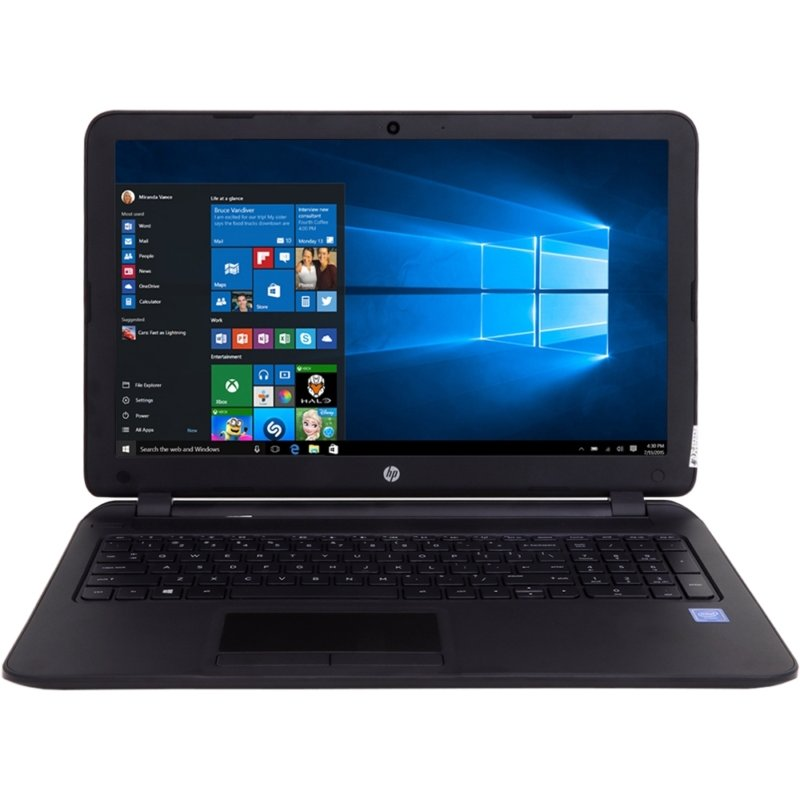 Notebook Hp 15-f246wm Cel. Dual Core 2.16/4gb/500gb/15.6/dvd/w10