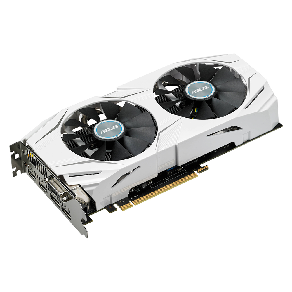 Placa De Video Gtx 1060 6gb Ddr5 Dual-gtx1060-06g Asus