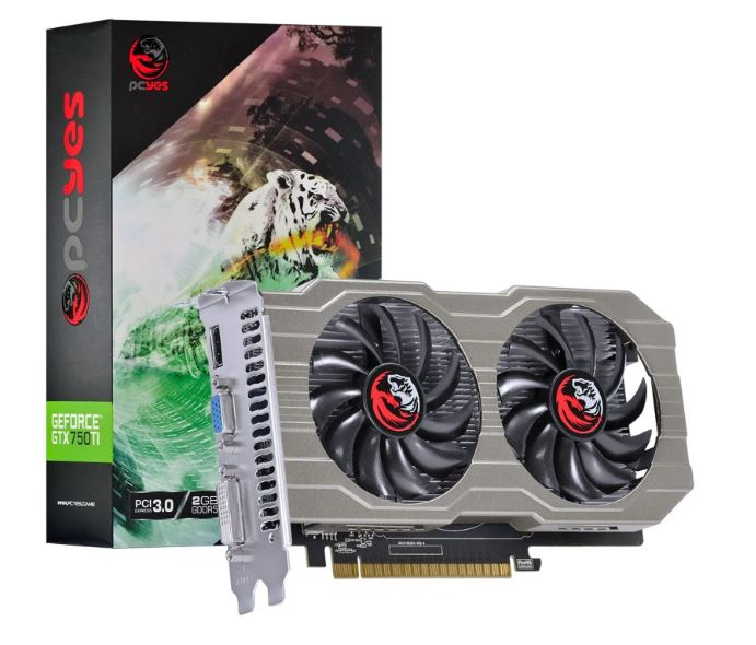 Placa De Video Gtx 750ti 2gb Gddr5 128bits Pa75012802g5 Pcyes