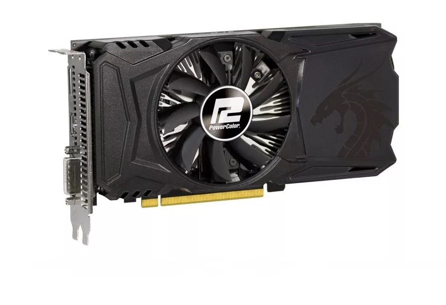 Placa De Video Rx 550 4 Gb Ddr5 Powercolor 4gbd5-dha