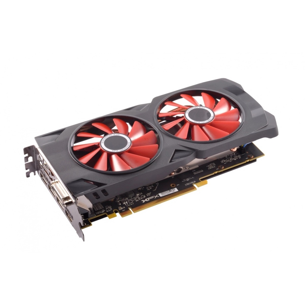 Placa De Video Rx 570 4 Gb 256 Bits 1284mhz Rs Xxx Ed Oc+ Ddr5 Xfx