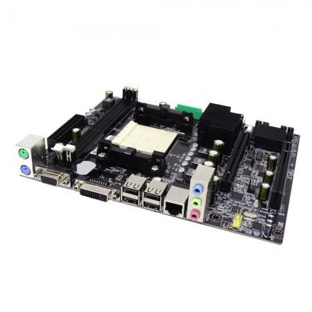 Placa Mae Amd Am3 Rs760/780+ Sb710 A76-mad3 Vga/dvi/ddr3 Afox