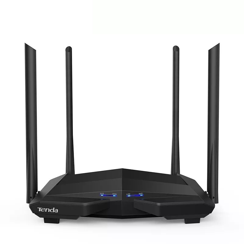 Roteador Wireless 1200mbps 4 Antenas Dual Band Ac10 Ac1200 Tenda