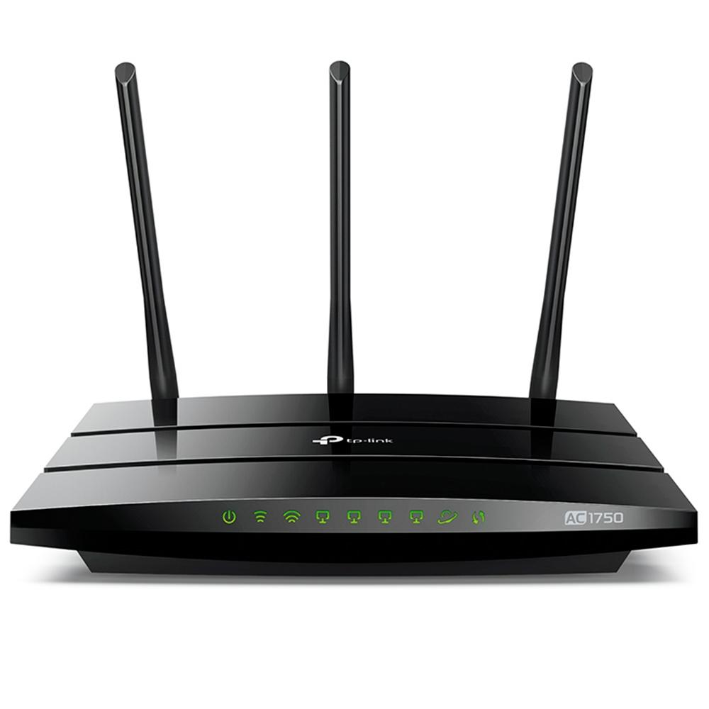 Roteador Wireless 1300mbps 3 Antenas Dual Band Archer C7 Ac1750 Tplink
