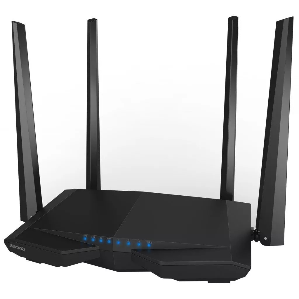 Roteador Wireless 867mbps 4 Antenas Dual Band Ac1200 Tenda